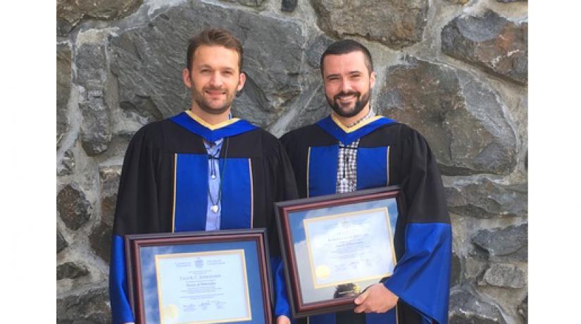 Dr. Taus Jørgensen and Dr. Robert Craig Stewart