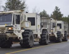 Metal Earth Seismic Survey Trucks